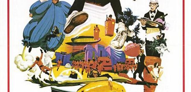 Śpioch (ang. Sleeper), reż Woody Allen, 1973.