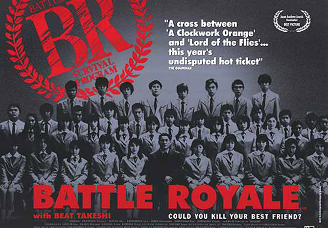 Battle Royale (reż. Kinji Fukasaku), 2000.
