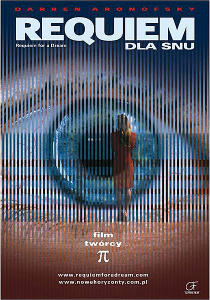 Requiem dla Snu (ang. Requiem for a Dream), reż. Darren Aronofsky, 2000.