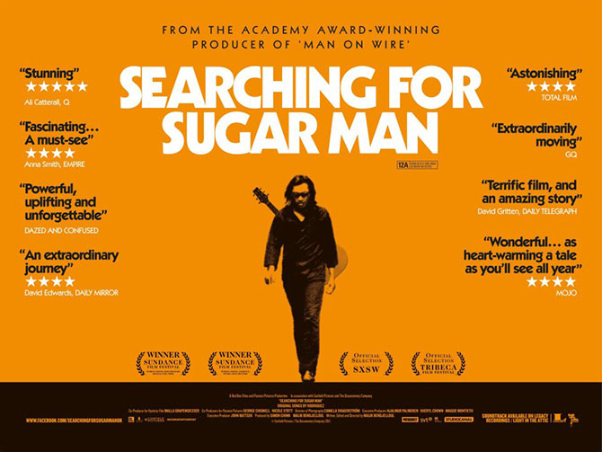 Sugar Man (ang. Searching for Sugar Man), reż. Malik Bendjelloul, 2012