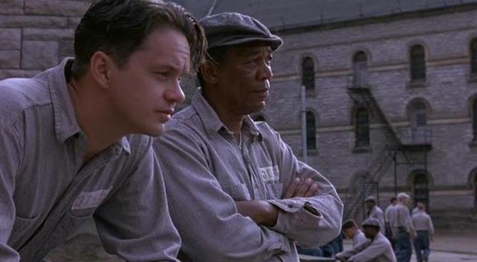 Skazani na Shawshank (ang. The Shawshank Redemption), reż. Frank Darabont, 1994