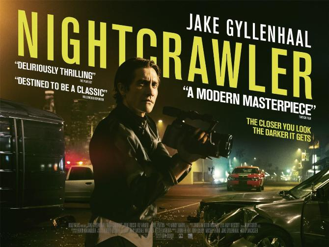 Wolny strzelec (ang. Nightcrawler), reż. Dan Gilroy, 2014