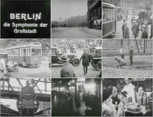 """""""Berlin, symfonia wielkiego miasta"""" (niem. Berlin: Die Sinfonie der Großstadt)"""
