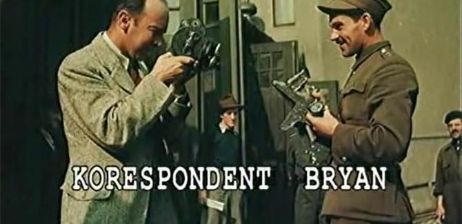 Korespondent Bryan, reż. Eugeniusz Starky, 2010